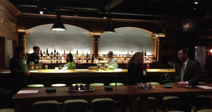 The Completed Whisky Bar at MFH