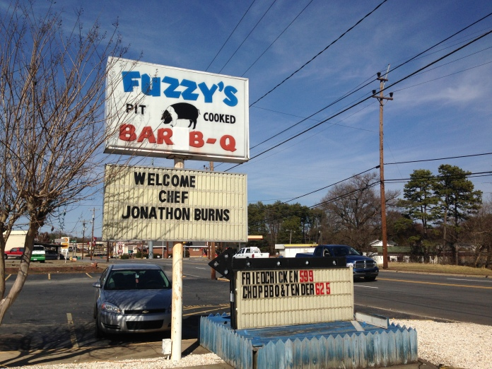 Fuzzy's BBQ Sign - Madison