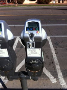 Parking Meters - Take Credit Cards