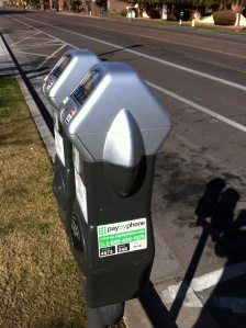 Parking Meters - Pay by Phone or Credit Card