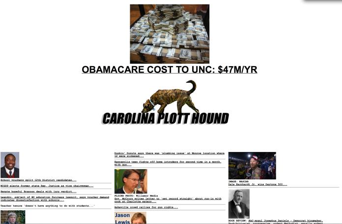 Carolina Plott Hound - NC Conservative News Aggregator