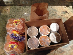Fuzzy's BBQ Family Pack